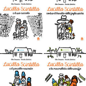 Le avventure di Lucilla Scintilla – 4 volumi