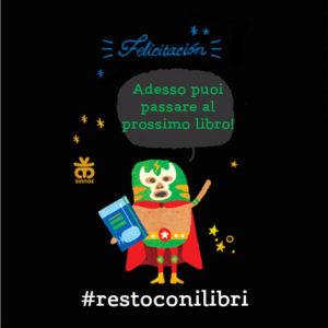 Immagine #restocoilibri