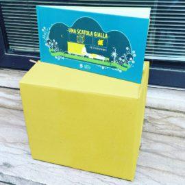 Una scatola Gialla ne I Libri di Camilla!
